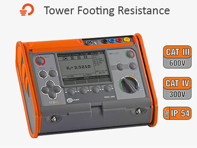 Sonel India - Tower Footing Resistance Meter Image