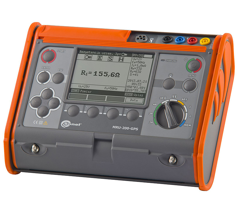 4p earth resistance meter, Earth tester in india, earth tester, earth megger, earth resistance meter